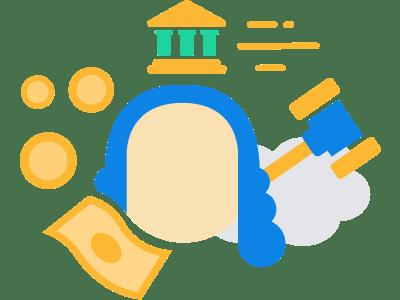 Gerechtelijke procedure - deurwaarder - deurwaarder inschakelen